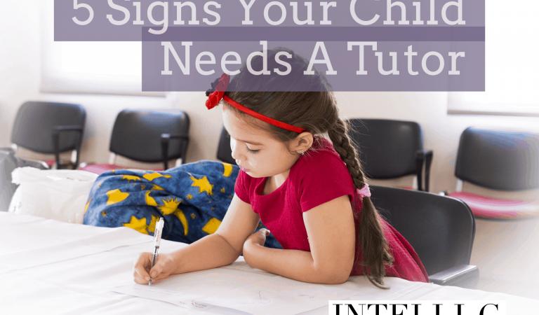 5 signs child needs tutor